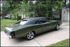 1968 Dodge Charger R/T 440/375 HP, Automatic