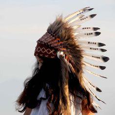 Inka Headdress - Brown