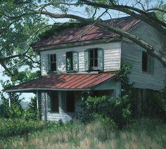 abandoned home in Edwardsville, Virginia