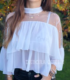 Crop Top Outfits, Cute Casual Outfits, Girly Outfits, Stylish Outfits, Girls Fashion Clothes, Teen Fashion Outfits, Fashion Dresses, Stylish Dresses For Girls, Cute Dresses