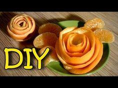 How To Make A Rose From Orange Peel – DIY Orange Rose | Home Design, Garden & Architecture Blog Magazine
