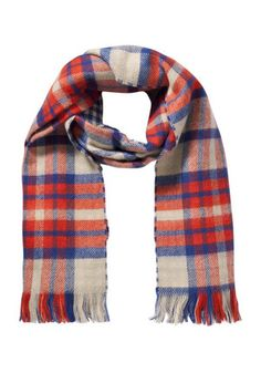F&F Double Sided Checked Scarf at F&F Clothing