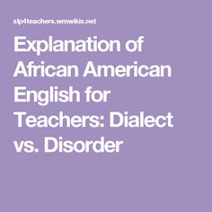afro american vernacular english vs standart american Is it black english, afro-american english, african american vernacular english (aave), or what confusion about what to call this dialect is understandable its name has changed frequently in both the linguistic literature and popular discourse.