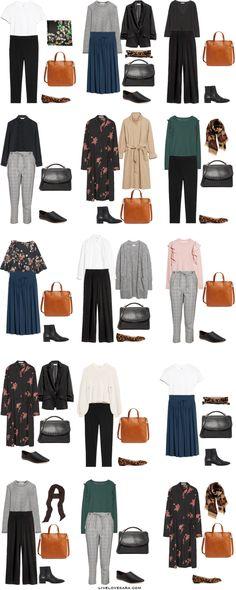 A Starter Work Capsule Wardrobe Hijab hijab outfit ideas Modern Hijab Fashion, Hijab Fashion Inspiration, Muslim Fashion, Modest Fashion, Fashion Ideas, Capsule Wardrobe Work, Capsule Outfits, Wardrobe Ideas, Hijab Style