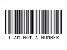 Bar Code art | Details about Barcode Not A Number Banksy Style Art Print -s259