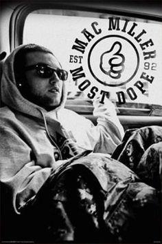 Mac Miller Most Dope B Poster