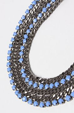 *Accessories Boutique The Cleo Necklace in Blue : MissKL.com - Cutting Edge Women's Fashion, Accessories and Shoes.