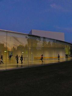 逢魔時情景 21世紀美術館