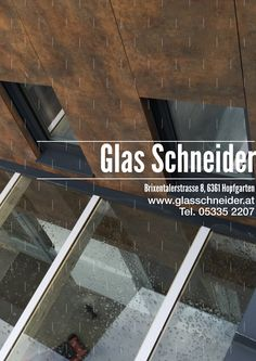 Hopfgarten Im Brixental, Glass Roof, Partition Screen, Panel Room Divider