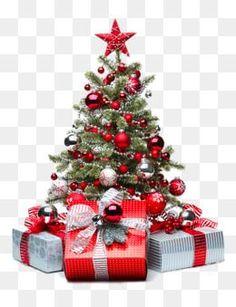A árvore de natal Vermelho