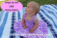 The Audrey Dress  PDF Sewing Pattern Shirred by DesignsByMoo, $6.00