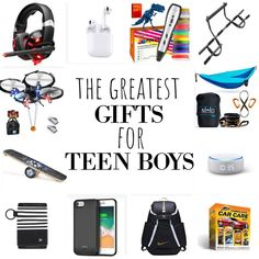 These are the BEST gifts for teen boys. From stocking stuffers to necessities and big ticket items to experiences, this list has EVERYTHING. #gifts #giftsforboys #giftlist #christmas #bestgiftsforboys #giftsforteens #teenboy #boymom #holidays #shopping #giftguide #stockingstuffers