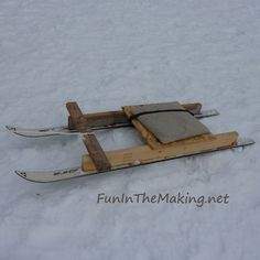 Don't Have A Sled: Make Your Own!
