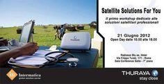 Satellite Solutions For You, il primo workshop dedicato alle soluzioni satellitari professionali
