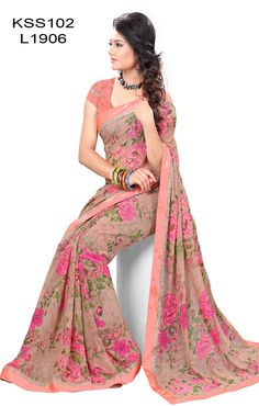KING SALES NEW LATEST ARRIVAL PINK AND ORANGE FLORAL PRINT HALF & HALF SAREES  …SAREES FABRIC:60 GM GEORGETTE …SAREES COLOR:PINK & LIGHT ORANGE …SAREES LENGTH:5.50 MTR …SAREES PATTERN:FLORAL PRINT ..STYLE TYPE:HALF & HALF SAREES ..WORK:LACE WORK …BLOUSE FABRIC:GEORGETTE …BLOUSE COLOR:LIGHT ORANGE …BLOUSE SIZE:0.80 MTR ..OCCASION:PARTY, FESTIVAL ..WEIGHT:500 GMS ..SKU:KSS102-L1906