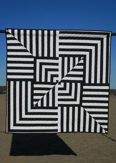Custom quilt designed by Libs Elliott using HYPE Framework + Processing code. 2015.