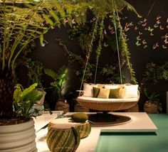 16 Extremely Comfy Hanging Loungers For Full Relaxation | sofabed public places product design outdoors design gardens terrace  | public places product design loungers hanging loungers hanging bads hanging gardens garden cozy comfy