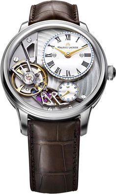 Maurice Lacroix (Марис Лакруа) MP6118-SS001-112-2 мужские швейцарские механические наручные часы