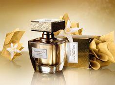 """Das strahlende, luxuriöse """"Essenza"""" ein wahrer Luxus in der exquisiten Glasflasche und mit seiner in Echtblattgold versehenen Verschlusskappe ist es ein edles hochwertiges, besonderes Parfum. Ein blumig, holziges Parfum von höchster Qualität, vermittelt das Gefühl eines eleganten, schönen Lebens... #mode #gold #Luxus #giordanigold #style #essenza #Parfüm #Parfum #Oriflame #OriflameGermany"""