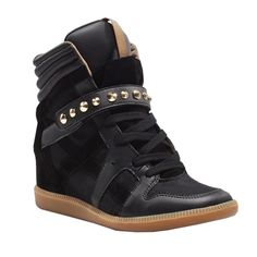 Zara Studded Sneakers, $99  Fashionable Sneakers | The Zoe Report
