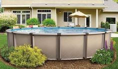 Above Ground Pool, In Ground Pools, Country Pool, Tub, Patio, Landscape, Outdoor Decor, Home Decor, Bathtubs