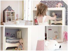 Limmaland 'Die kleine Möbel-Villa' Ikea Hack Expedit / Kallax Puppenhaus <3
