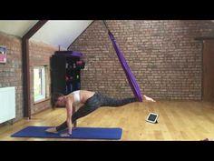 Aerial Pilates Practice - YouTube