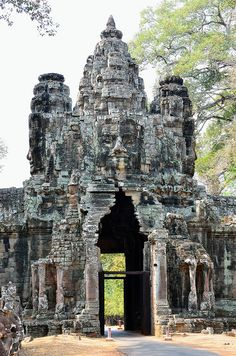 Ankor Wat - Cambodia  One of the most amazing places I have visited