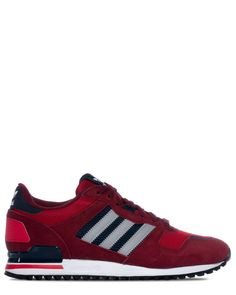 Adidas ZX 700 Collegiate burgundy/mgh solid grey/scarlet sneakers M19390  Skor p� Zoovillage