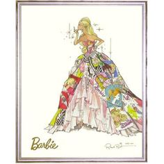 Limited Edition Generation of Dreams Barbie Print from PoshTots