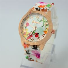 Floral Strap/Face Watch (Type 2)  $35