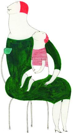 Art And Illustration, Character Illustration, Graphic Design Illustration, Klimt, Elena Odriozola, Juan Palomino, Story Drawing, Old Art, Mother And Child