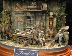 Joshua Smith, Model Tanks, Military Modelling, Military Diorama, Custom Action Figures, Model Building, Scale Models, Vignettes, Wonders Of The World