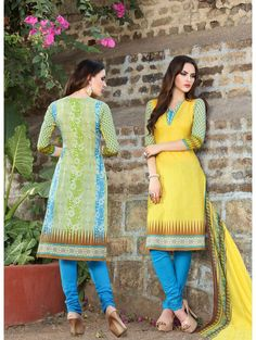 Printed Pure Cotton Long Concept Daily Wear Salwar Suit
