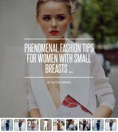 #Phenomenal #Fashion Tips for Women with Small Breasts  ... - Fashion