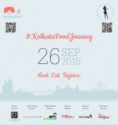 Cal's first food journey where BlabberCat was the online media partner - #kolkatafoodjourney