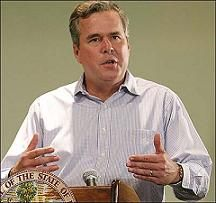 At least Jeb Bush gets it! States that far-right immigration policy doesn't make sense to Hispanics.
