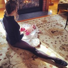 Mary Helen Bowers et Lumina Belle Mary Helen Bowers, Ballet Beautiful Workout, Future Maman, Baby Love, Animal Print Rug, Ballet Dance, First Love, Photos, Instagram