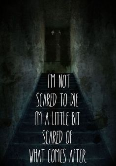 Im Not Scared To Die Inspirational Life Quotes Lyric Quotes, Sad Quotes, Life Quotes, Qoutes, Music Sing, Music Lyrics, Brand New Lyrics, Cheesy Quotes, Depression Quotes