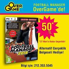 Football Manager 2016  (PC Mac ve Linux) OverGame'de 50tl. %100 Türkçe  #pc #mac #macintosh #linux #fm #fm16 #sega #footballmaneger #footballmanager2016 #game #gamer #futbol #oyun #kampanya #indirim #overgamekanyon #kanyonda #istanbul by overgame_kanyon