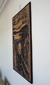 Ravelry: The Scream Illusion Knit pattern by Steve Plummer