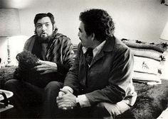 Cortázar & García Márquez by Sara Facio