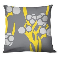 YAY! For the Den! I love all the grey and yellow I'm finding!