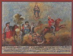 Exvoto a la Virgen de Cholula (?), Museo Regional INAH, Cdad. de Puebla, Pue. | Flickr - Photo Sharing!