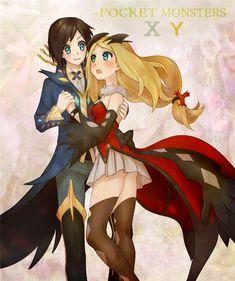 Elegant Unima Characters - Xerneas and Yveltal Dresses  Love <3  #pokemon #unima #xy #pkmn #game #nintendo #yveltal #xerneas