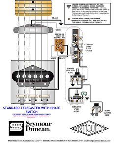 Tele Wiring Diagram tapped with a 5 way switch Telecaster Build
