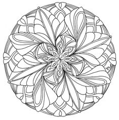 mandala by artwyrd deviantart find this pin and more on adult printable coloring pages