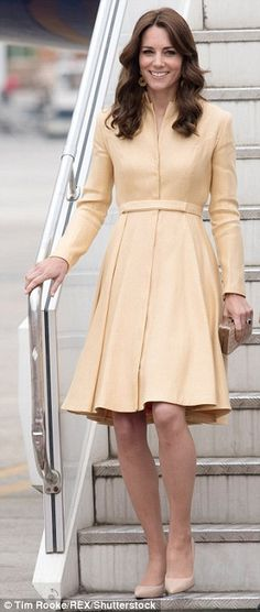 The real cost of the Duchess's outfits during her seven-day royal tour | Daily Mail Online