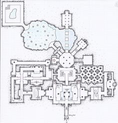 One of 4 levels for an Alyssa Faden masterwork entitled Hellhound Caves