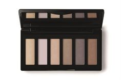 Make up ¿intenso o natural?  Sexteto de sombras (Natura Una, $435).…